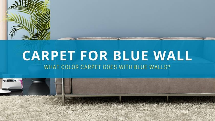 Carpet color for Blue Walls