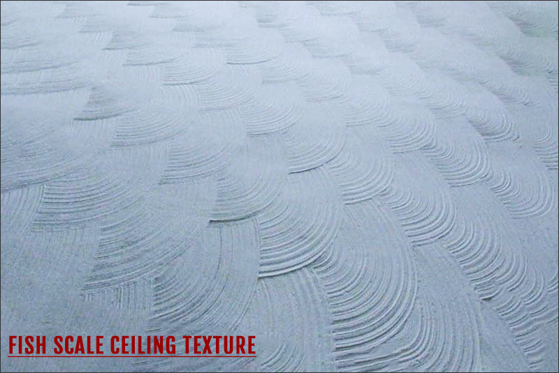Ceiling Texture type: Fish Scale