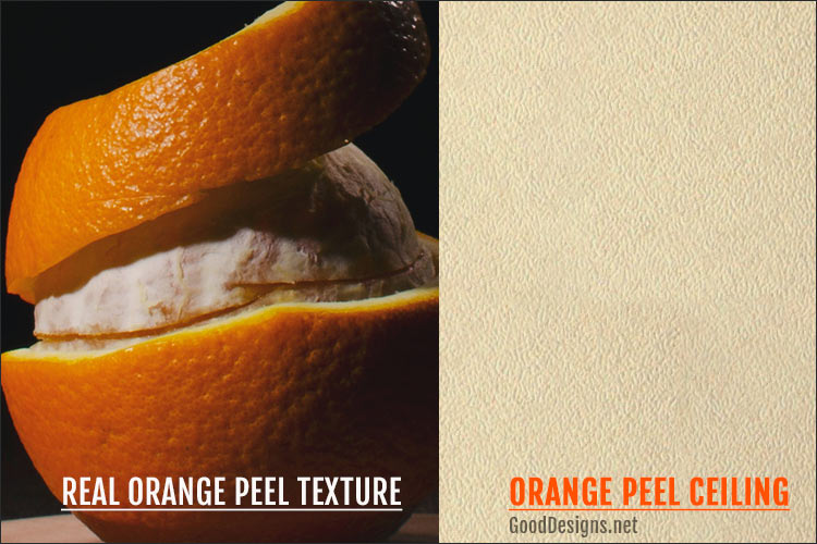 Orange Peel Texture for ceiling