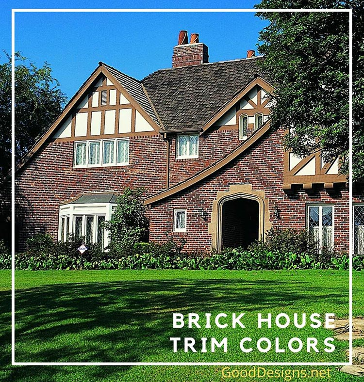 brown brick trim color