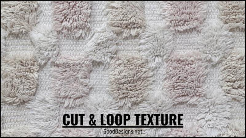 Cut and Loop Carpet texture