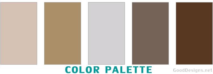 Beige color scheme