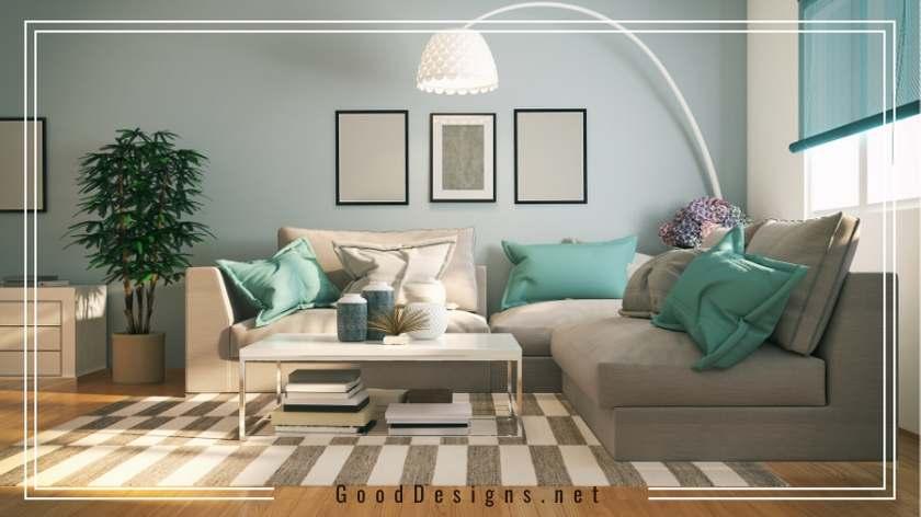 Celadon color for Living Room