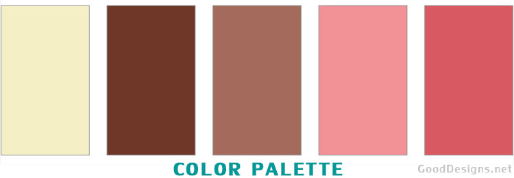 neapolitan color scheme for living room