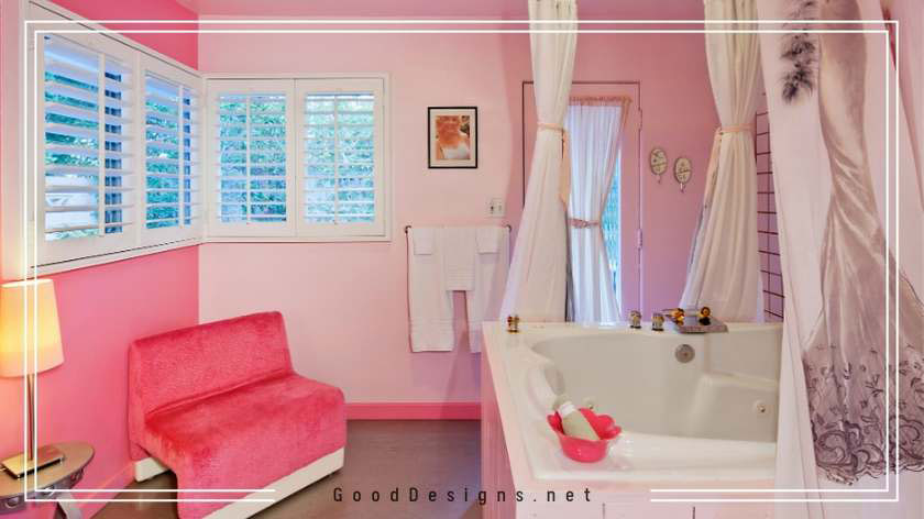 Pink Paint for bathrooms