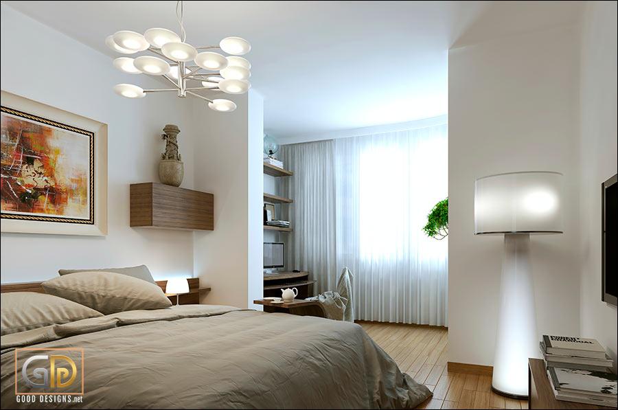 Modern bedroom chandelier ideas