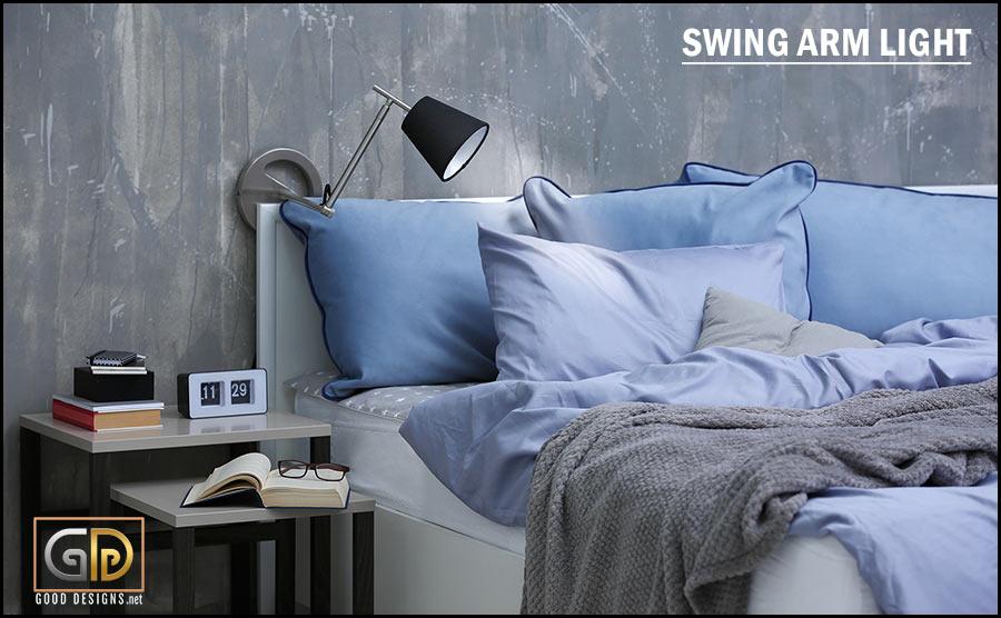 Swing Arm Light for reading